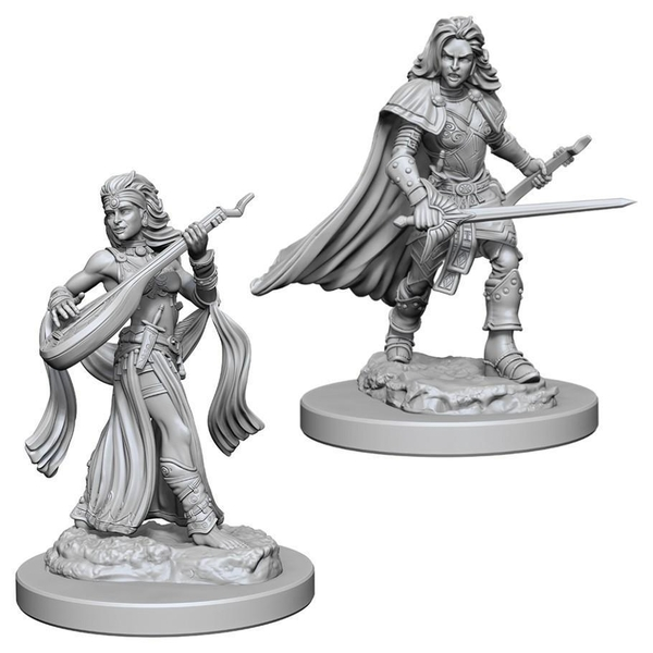 Pathfinder Deep Cuts Unpainted Miniatures (W4) - Human Female Bard