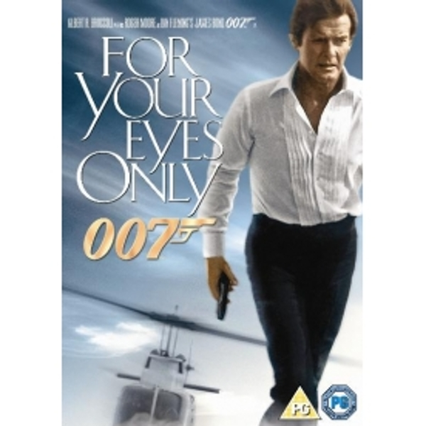 James Bond For Your Eyes Only DVD