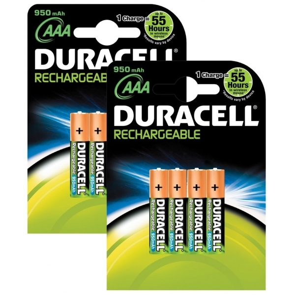 Duracell Supreme AAA 8 Pack-2 X HR03