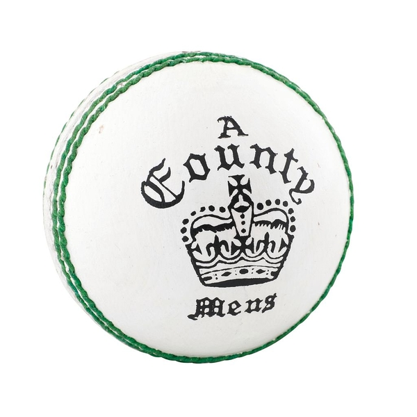 Readers County Crown Cricket Ball White - Youths - Image 1