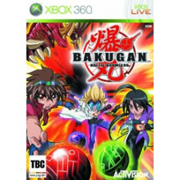 Bakugan Battle Brawlers Game Xbox 360