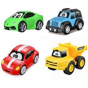 BB Junior My 1st Collection Set Of 4 Toy Cars