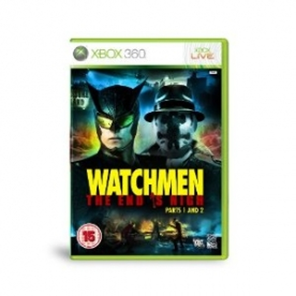 Watchmen The End is Nigh 1 & 2 Game Xbox 360