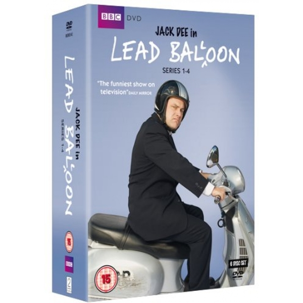 Lead Balloon - Series 1-4 DVD