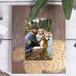 "Home Living Gold Palm Photo Frame 4"" x 6"" [Damaged Packaging] - Image 6"