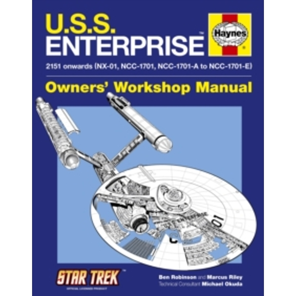 U.S.S. Enterprise Manual by Marcus Riley, Ben Robinson (Hardback, 2010)