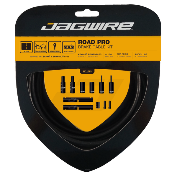 Jagwire Road Pro Brake Kit Stealth Black