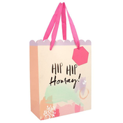 Hip Hip hooray Medium Giftbag Pack Of 6