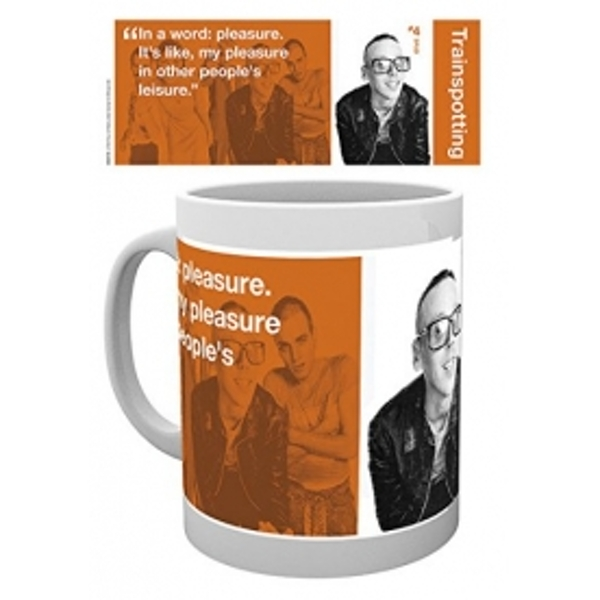 Trainspotting Spud Mug