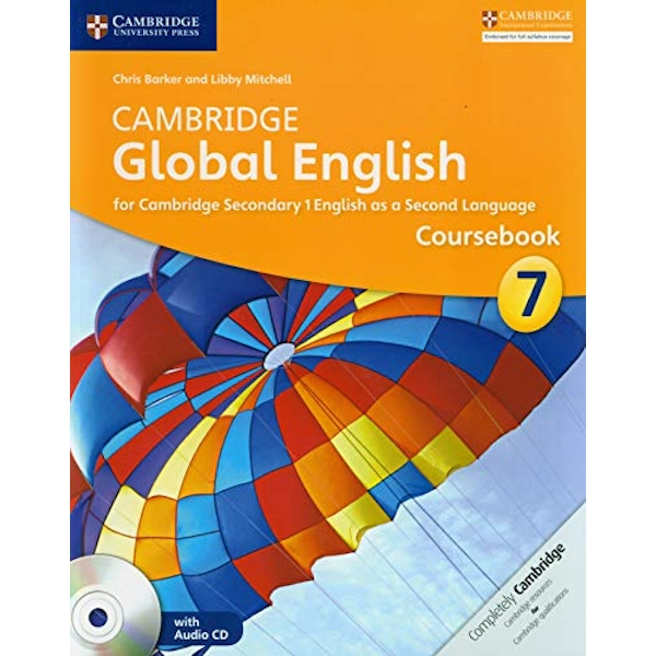 Cambridge Global English Stage 7 Coursebook with Audio CD for Cambridge Secondary 1 English as a Second Language  Mixed media product 2014