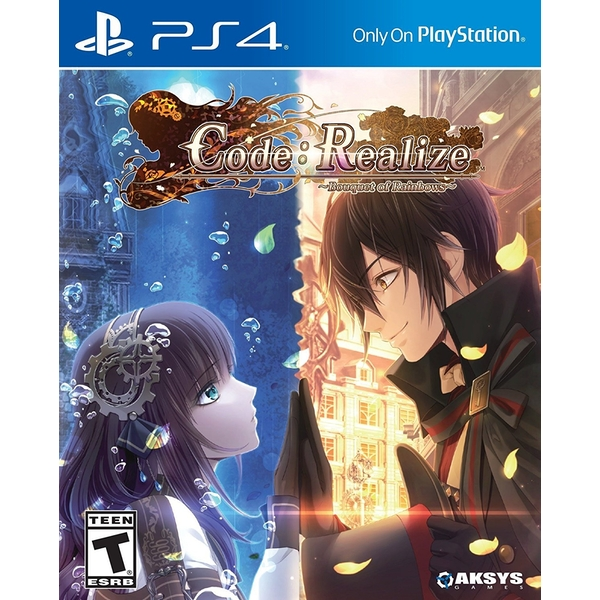 Code Realize Bouquet Of Rainbows PS4 Game