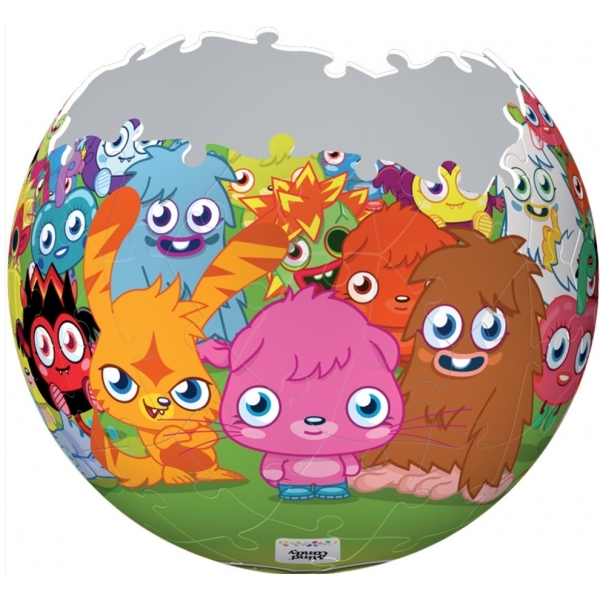 Moshi Monster 3D Jigsaw Puzzle - Image 3