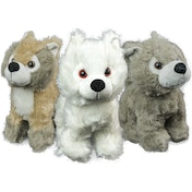 Game of Thrones Direwolf Pup Mini Plush Grey Wind