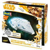 Ex-Display Revell Star Wars 1:64 Scale Millennium Falcon Advent Calendar 2018 Used - Like New