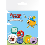Adventure Time Finn Badge Pack