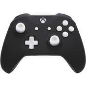 Xbox One S Controller - Polar Black Velvet Edition