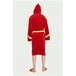 DC Comics The Flash Adult Fleece Bathrobe - Image 2