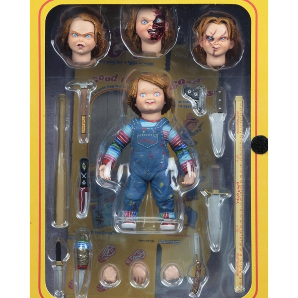 Ultimate Chucky (Childs Play) Neca 10cm Action Figure - Image 1