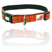 Long Paws Orange Comfort Collection Padded Collar M
