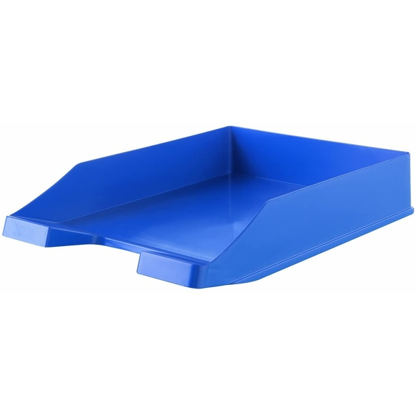 Stackable Letter Tray Blue