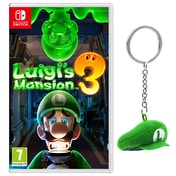 Luigi's Mansion 3 + Luigi Cap Screen Cleaner Nintendo Switch Game