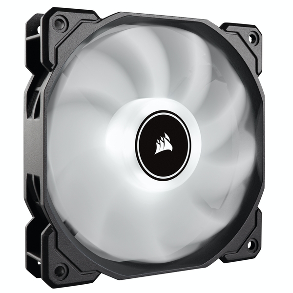 Corsair AF High Airflow Low Noise White LED Cooling Fan - 140mm