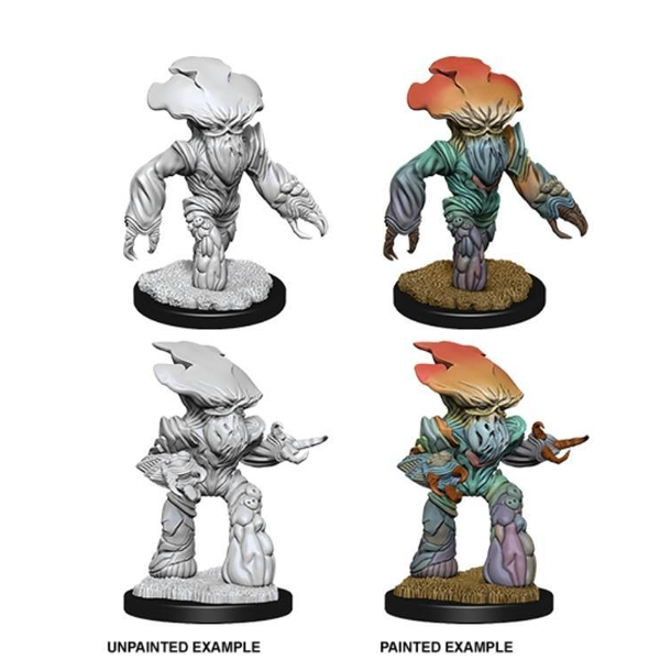 Dungeons & Dragons Nolzur's Marvelous Unpainted Miniatures (W6) Myconid Adults