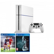 PlayStation 4 C-Chassis (500GB) White Console with FIFA 16 & Until Dawn