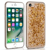 Caseflex iPhone 7 Tinfoil Soft Case - Gold