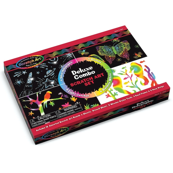Deluxe Scratch Art Set