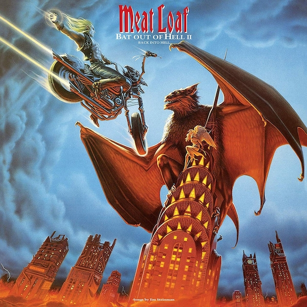 Meat Loaf - Bat Out Of Hell II: Back Into Hell Vinyl