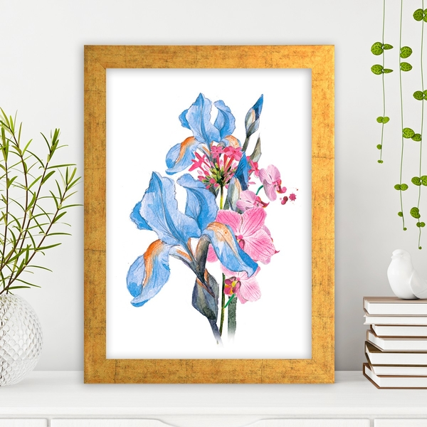 AC2493962684 Multicolor Decorative Framed MDF Painting
