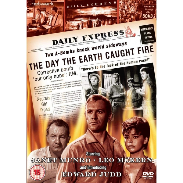 The Day the Earth Caught Fire DVD