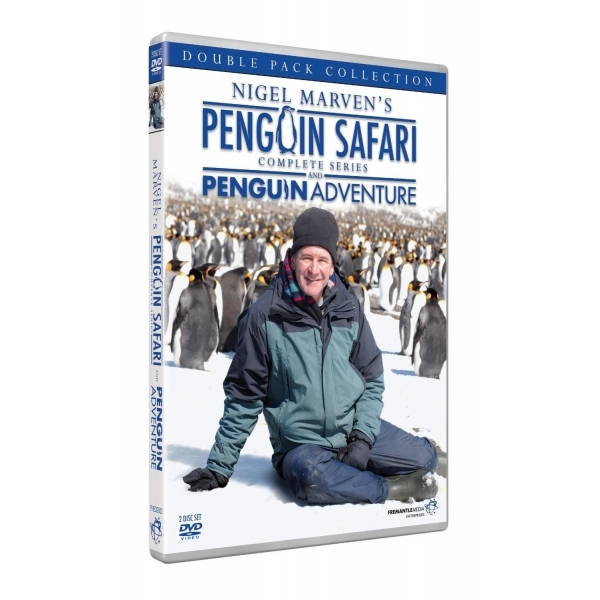 Nigel Marven's Penguin Safari The Complete Series DVD