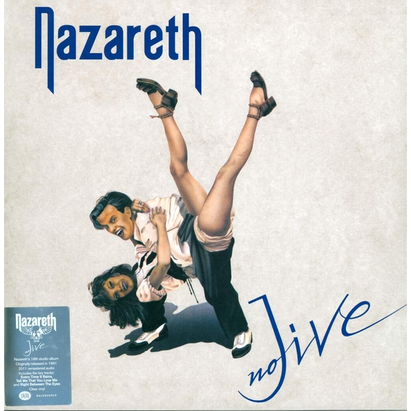 Nazareth ‎– No Jive Clear Vinyl