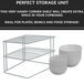 2 Tier Cupboard Corner Shelf | M&W - Image 4