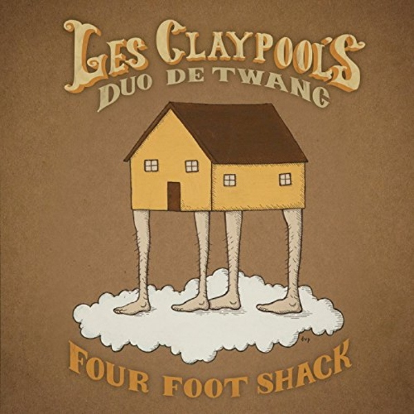 Les Claypool's Duo De Twang - Four Foot Shack Vinyl