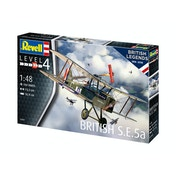 British S.E.5a 100 Years RAF (British Legends) 1:48 Revell Model Kit