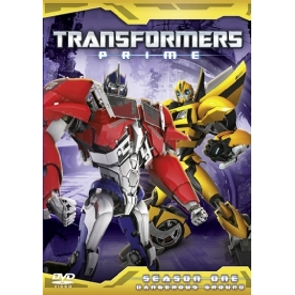 Transformers Prime Series 1 Part 2 DVD