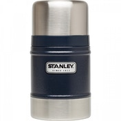 Stanley Classic Vacuum Food Jar 502ml - Navy Blue