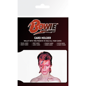 David Bowie Aladdin Sane Card Holder
