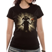 Harry Potter - Dobby Flash Fitted Women's X-Large T-shirt - Black