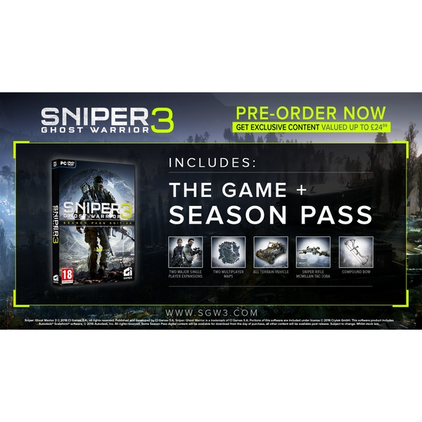 Sniper Ghost Warrior 3 Season Pass Edition PC Game - Image 2