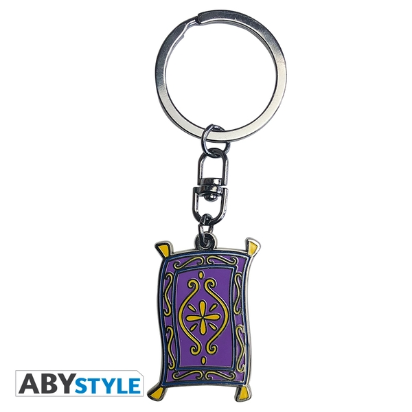 Disney - Aladdin/ Flying Carpet Metal Keyring