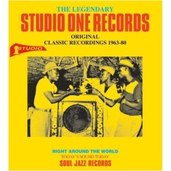 Soul Jazz Records Presents - The Legendary Studio One Records Sub title Original Classic Recordings 1963-80 CD