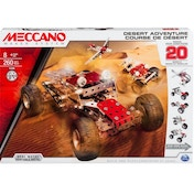 Meccano 20 Model Set Desert Adventure
