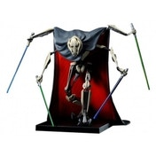 Ex-Display Star Wars 1-10th Scale General Grievous ArtFX+ Statue Used - Like New