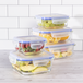 Glass Food Storage Containers - Set of 5 | M&W - Image 8