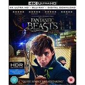 Fantastic Beasts and Where To Find Them 4K UHD + Blu-ray + Digital Download