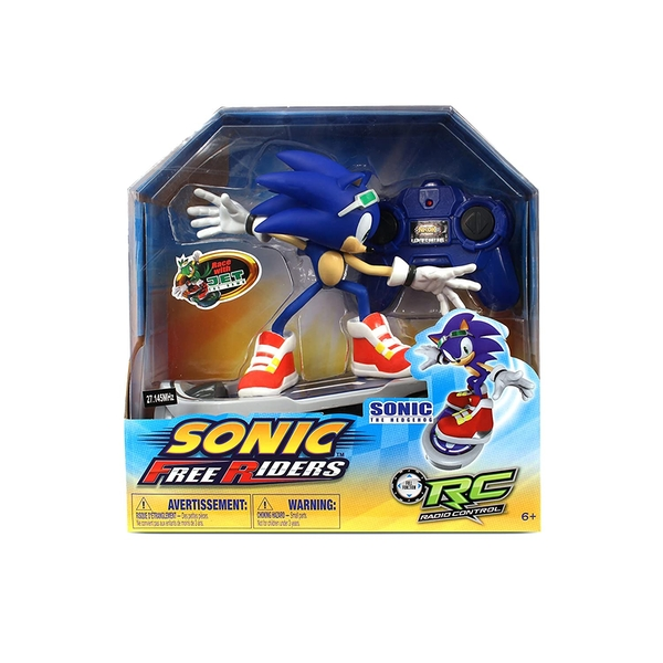 Sonic Free Riders - Sonic The Hedgehog Remote Control Skateboard